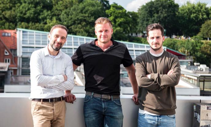 Die Nutringo Gründer: Michael, Robin und Armend