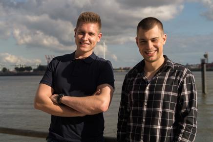 Die Box-Sharing Gründer - Jarid Degler und Benjamin Wagner
