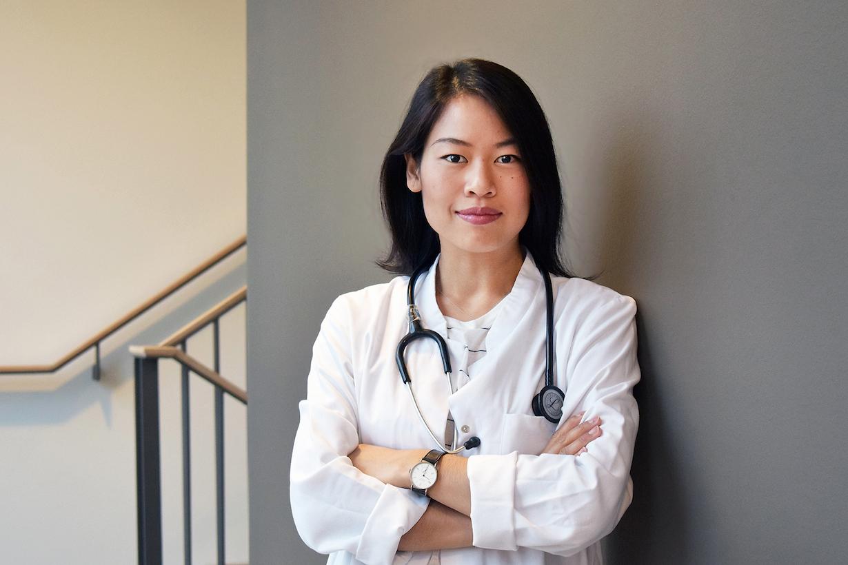Junomedical-Gründerin und CEO: Dr. Sophie Chung