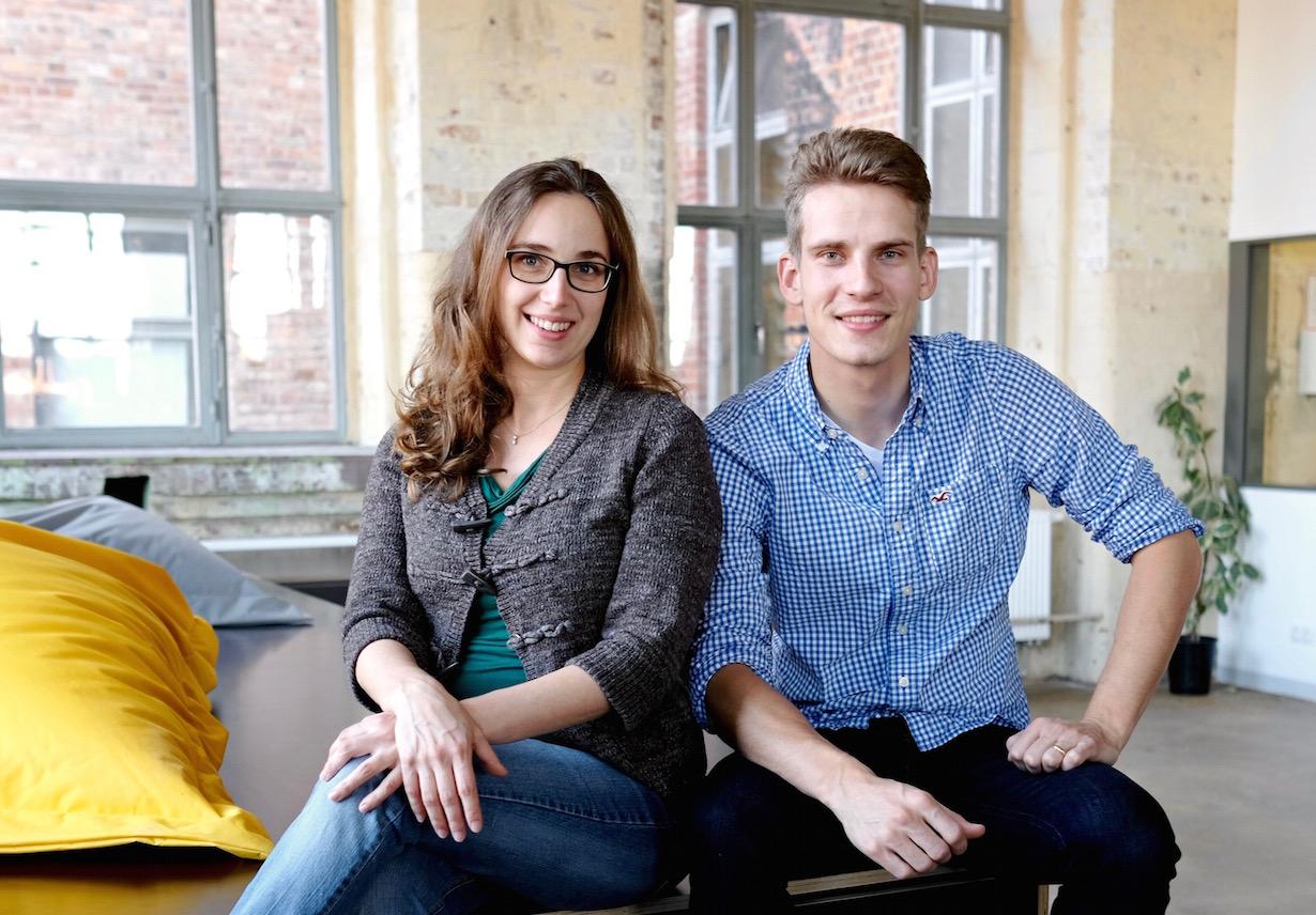 Das LAVIU Gründerduo Julia Ryssel und Martin Cirillo-Schmidt