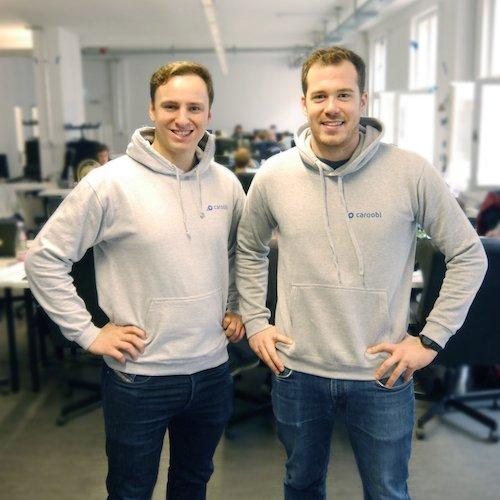 Caroobi Gründer: Nico Weiler und Mark Michl