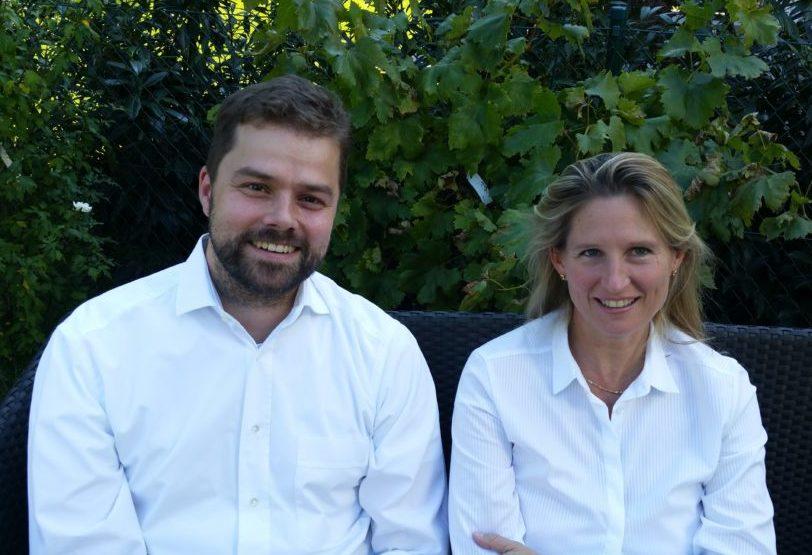 2/3 des KigaClick-Gründerteams: Florian Dasch und Isabel Fröhlich