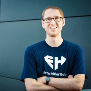 Felix Hanspach, Gründer und CEO von EntwicklerHeld